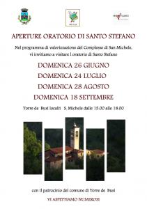 Apertura Oratorio Santo Stefano