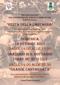 Pro Loco Valcava Festa della Castagna 2011